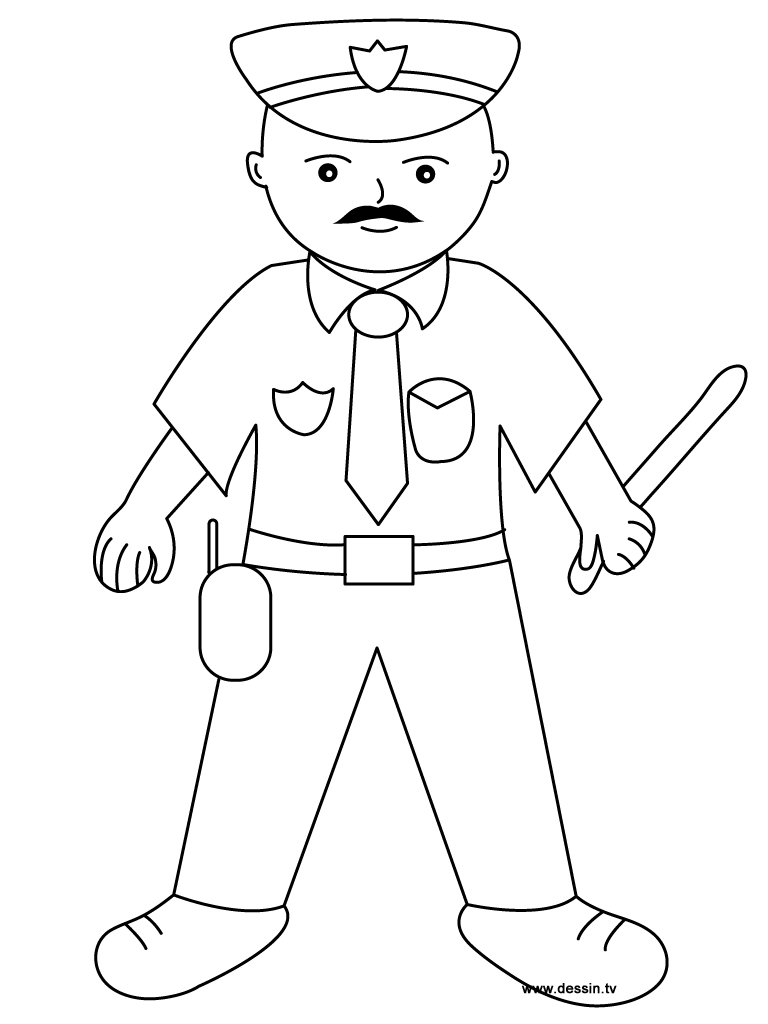 police coloring pages coloring policeman police pages coloring