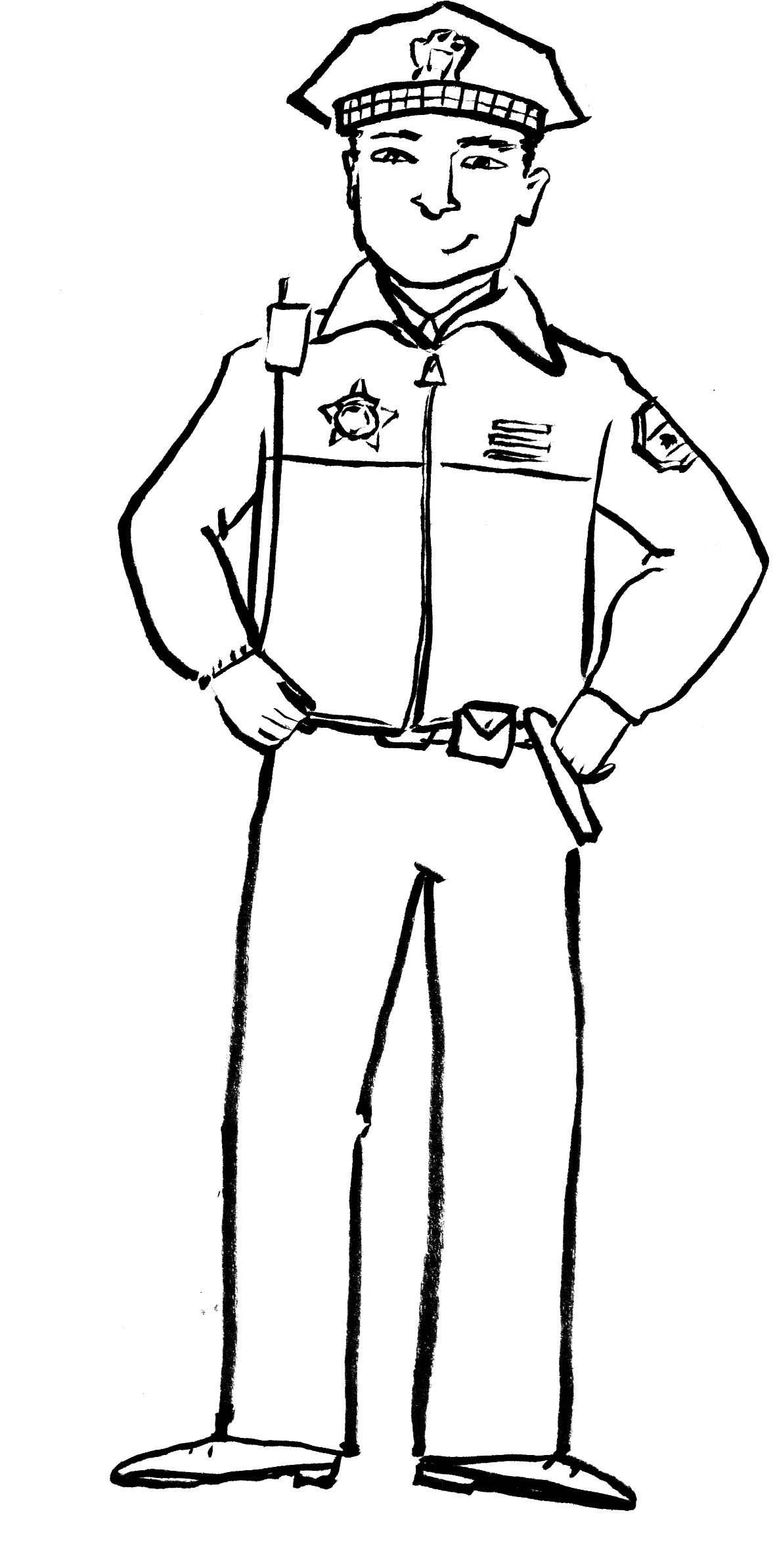 police coloring pages free printable policeman coloring pages for kids police coloring pages