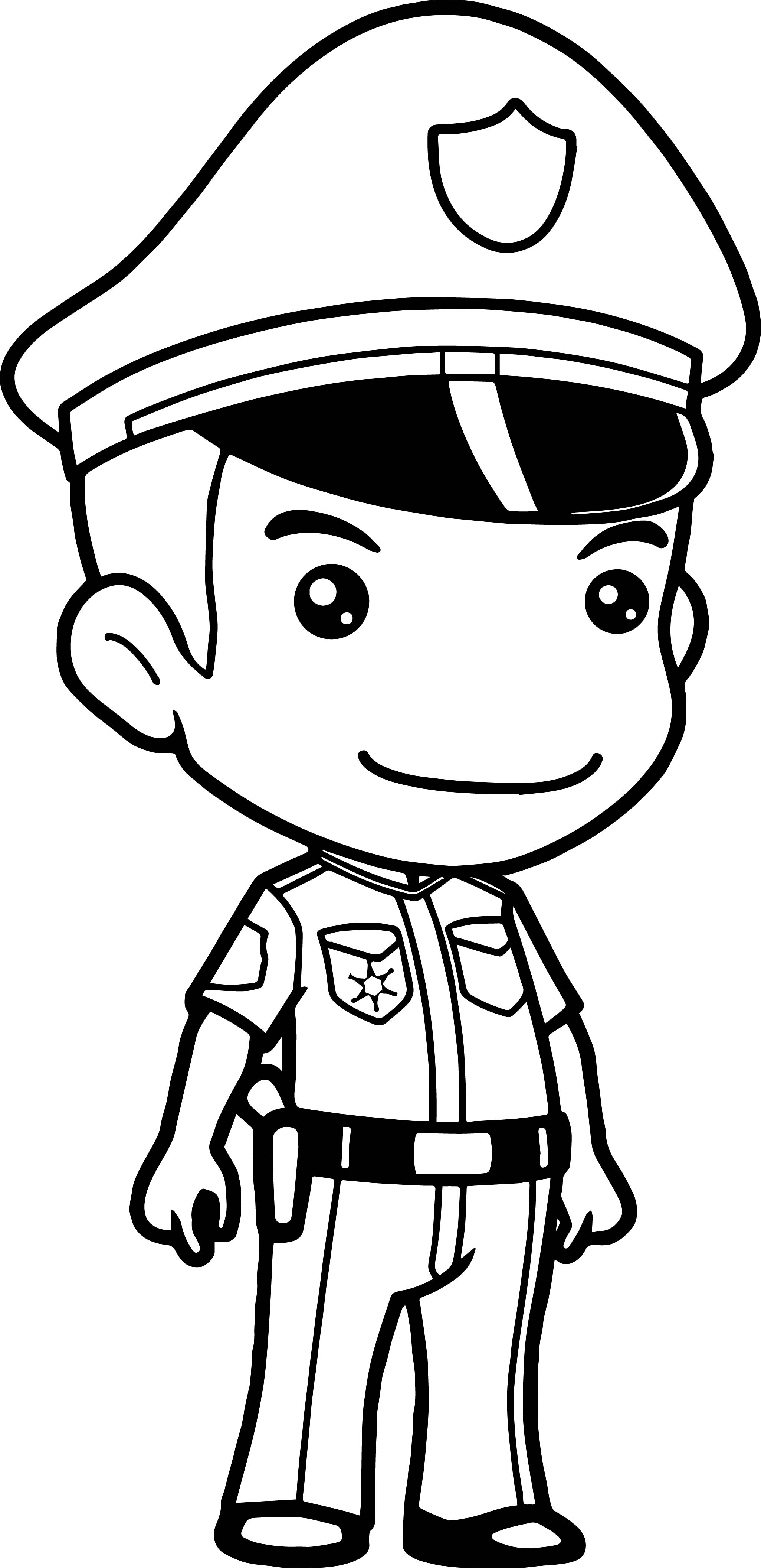 police coloring pages policeman coloring page coloring home police coloring pages