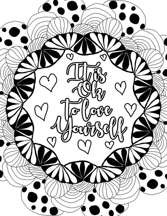 positive quote mandala coloring pages 68 best kids coloring pages images on pinterest coloring mandala quote coloring pages positive