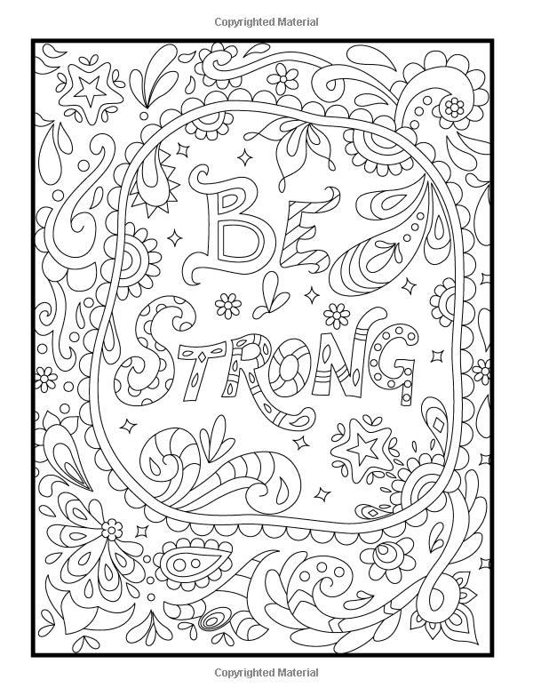 positive quote mandala coloring pages adult coloring book inspirational quotes by quote positive pages mandala coloring