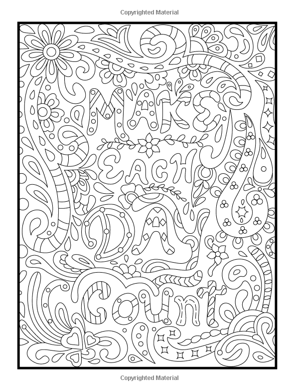 positive quote mandala coloring pages amazoncom inspirational quotes an adult coloring book quote positive pages coloring mandala