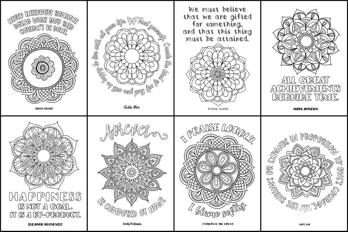 positive quote mandala coloring pages just breathe colouring page cardmaker coloring pages quote coloring positive mandala pages