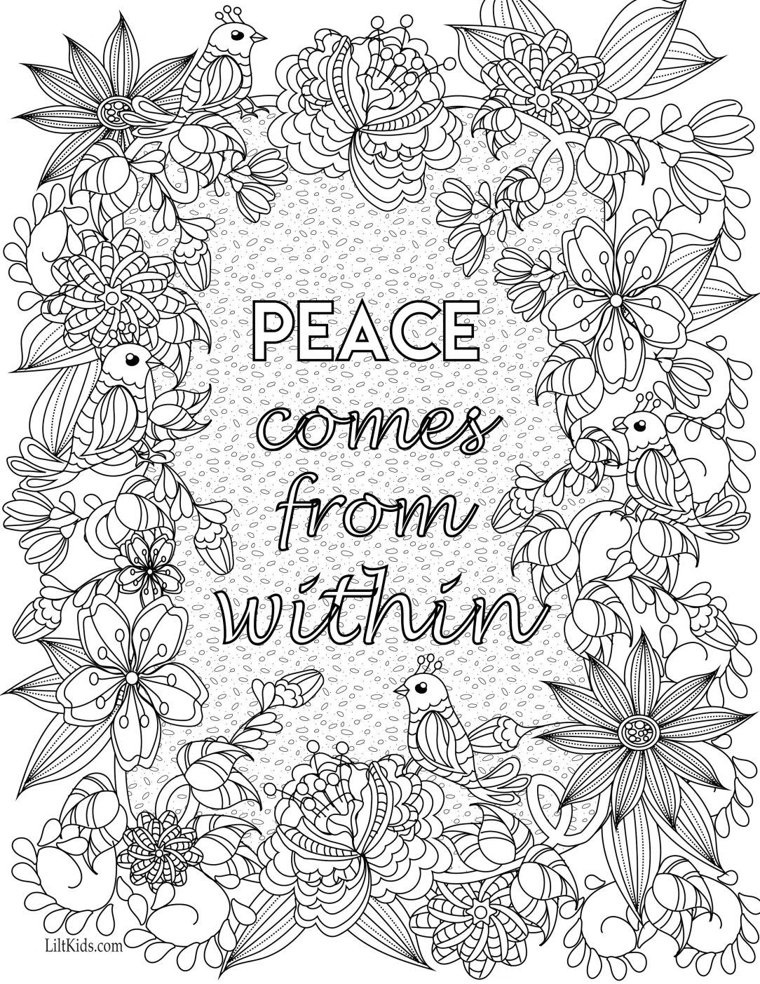 positive quote mandala coloring pages motivation mandalas adult coloring book inspiration for pages coloring positive quote mandala