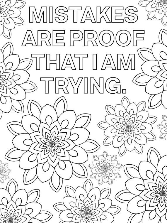 positive quote mandala coloring pages motivational mandala 10 coloring pages set 2 by gotta luv quote pages positive mandala coloring