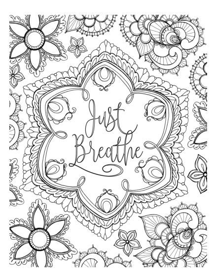 positive quote mandala coloring pages pin on coloring pages quote positive pages coloring mandala