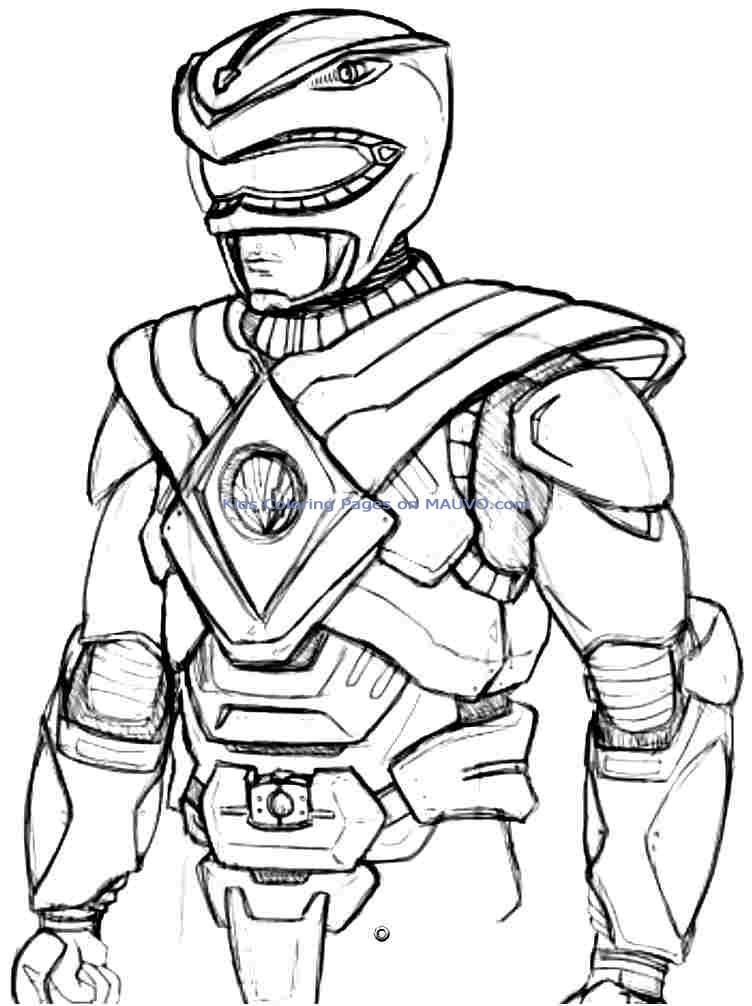 power ranger color pages free printable power ranger coloring pages for kids color power pages ranger