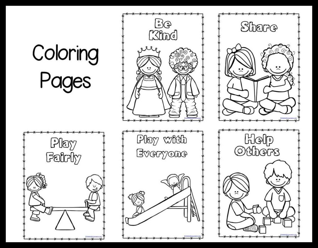 preschool manners coloring sheet mind your manners a kid39s guide to proper etiquette coloring preschool sheet manners