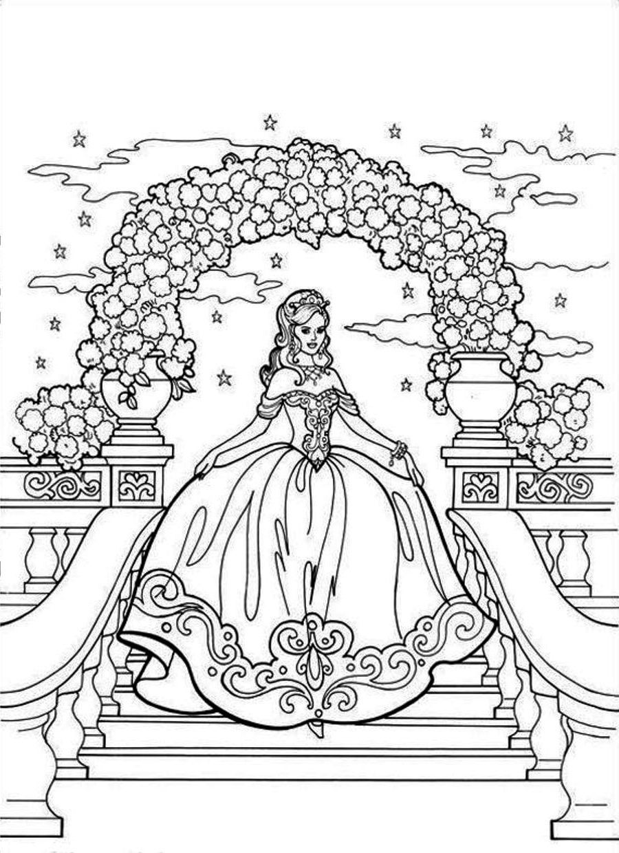 princess castle coloring pages beautiful princess steps castle stairs with luxury gown castle pages princess coloring