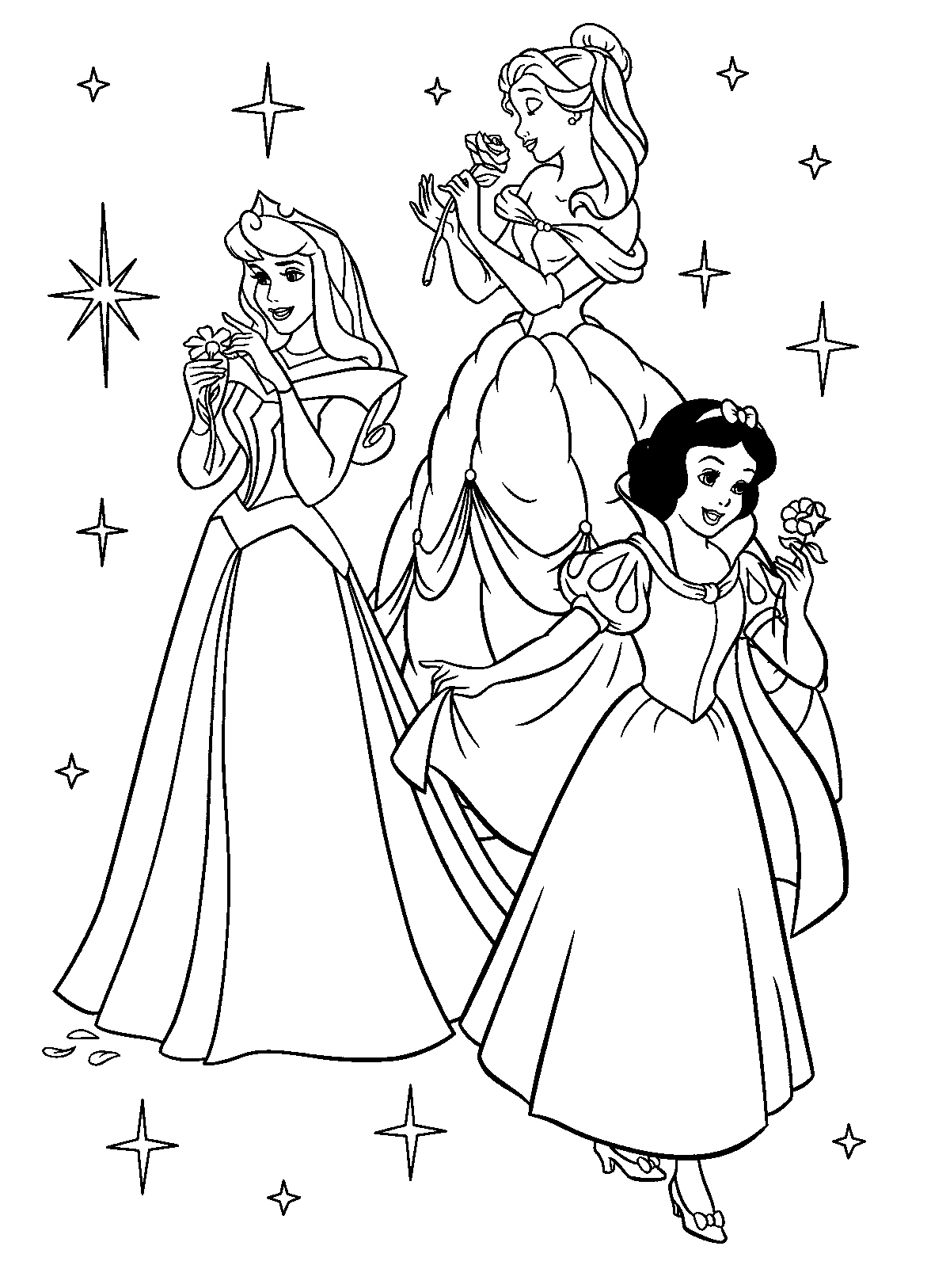 princess colouring pages print princess belle coloring pages to download and print for free pages princess print colouring