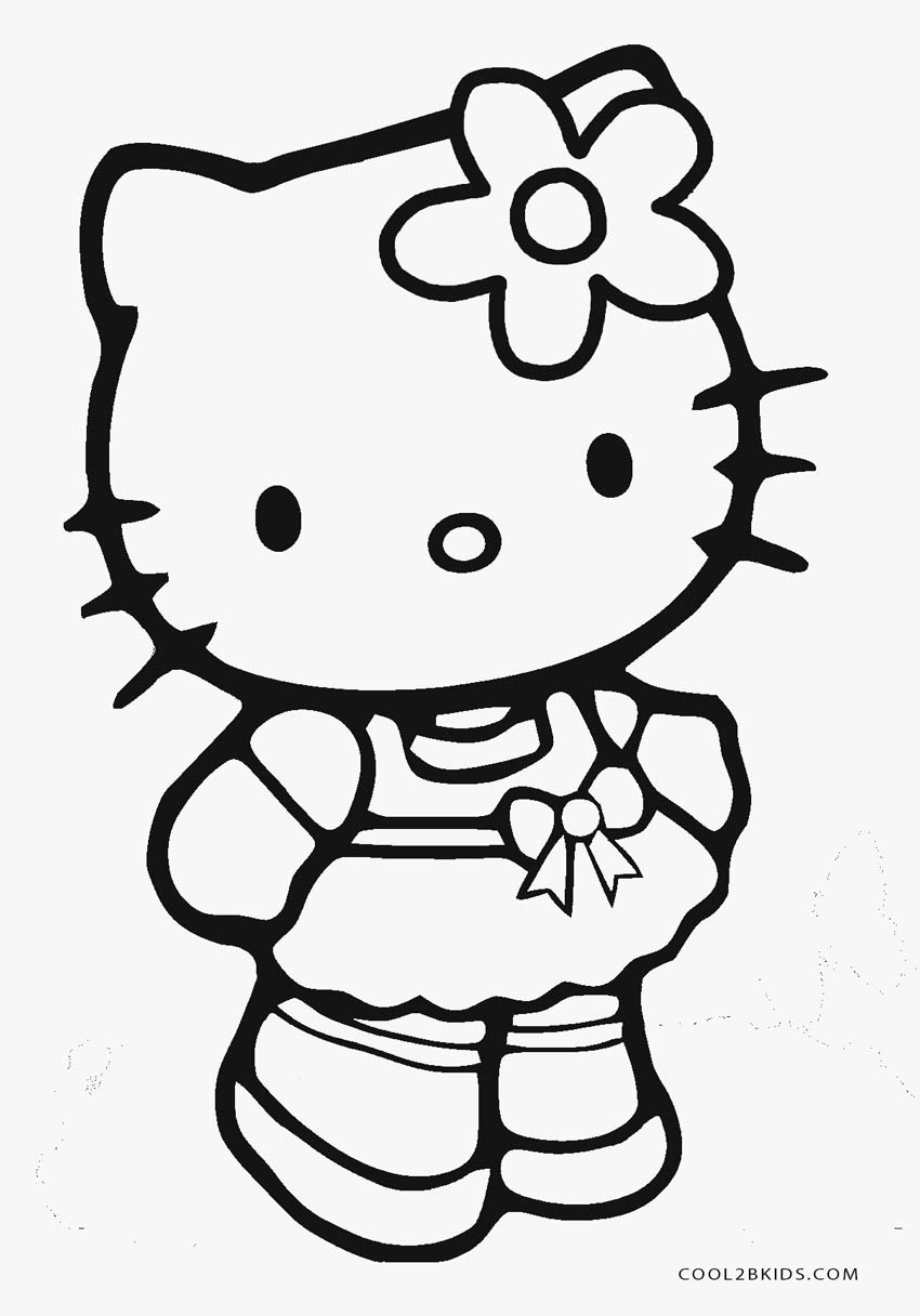 print hello kitty coloring pages free printable hello kitty coloring pages for pages kitty coloring print hello pages