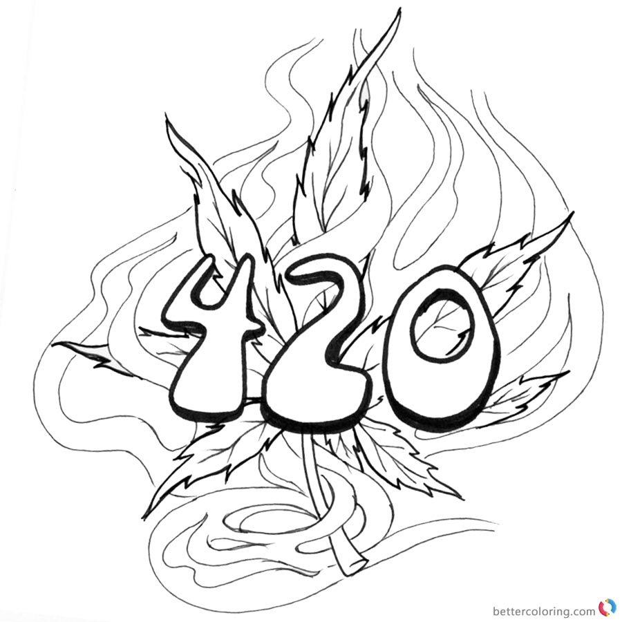 printable 420 coloring pages weed coloring pages 420 swear words free printable coloring 420 pages printable