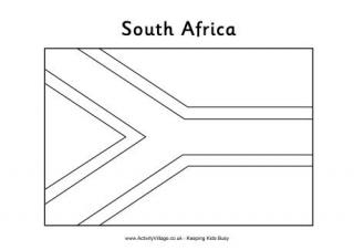 printable african flags flag of south africa blackline master printable african flags