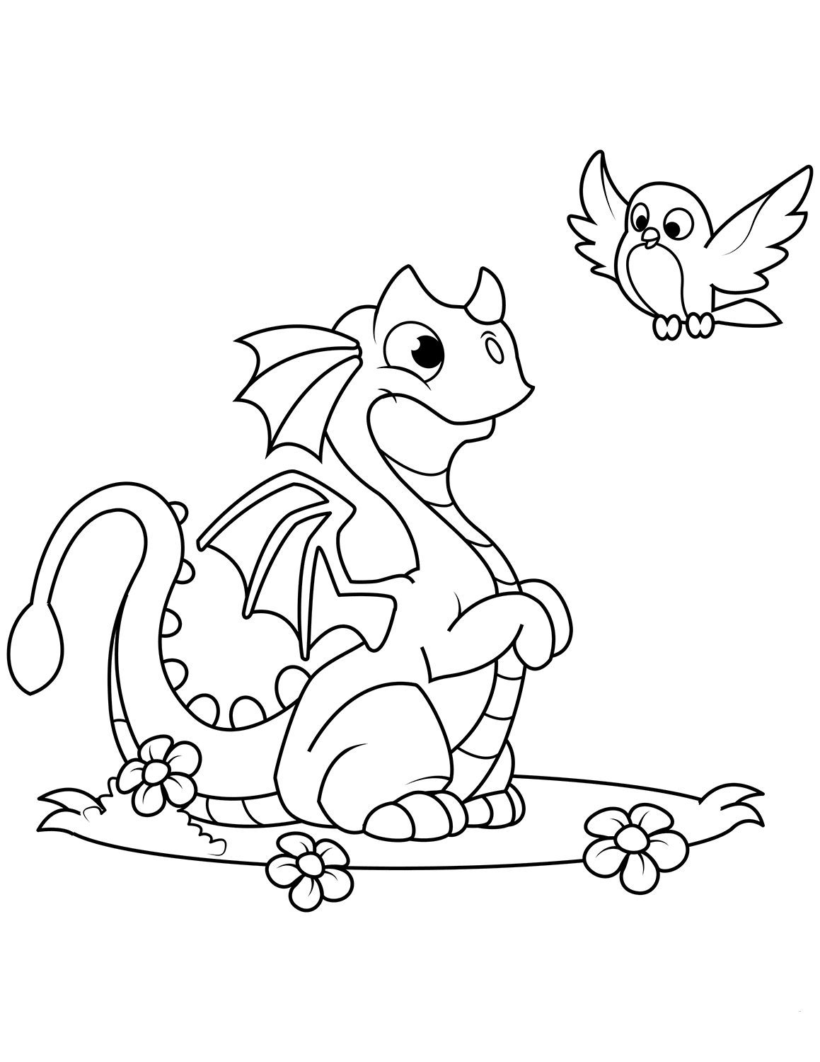 printable cute dragon coloring pages cute little dragon coloring page free printable coloring dragon coloring pages cute printable