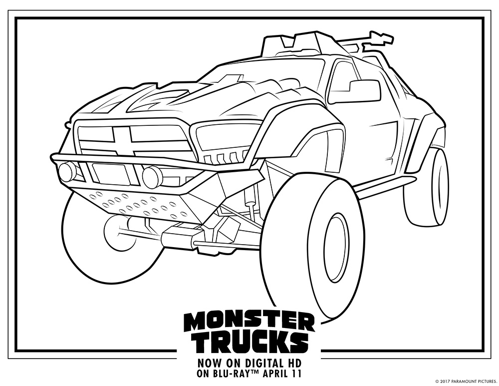 printable monster trucks monster truck coloring pages to download and print for free monster trucks printable