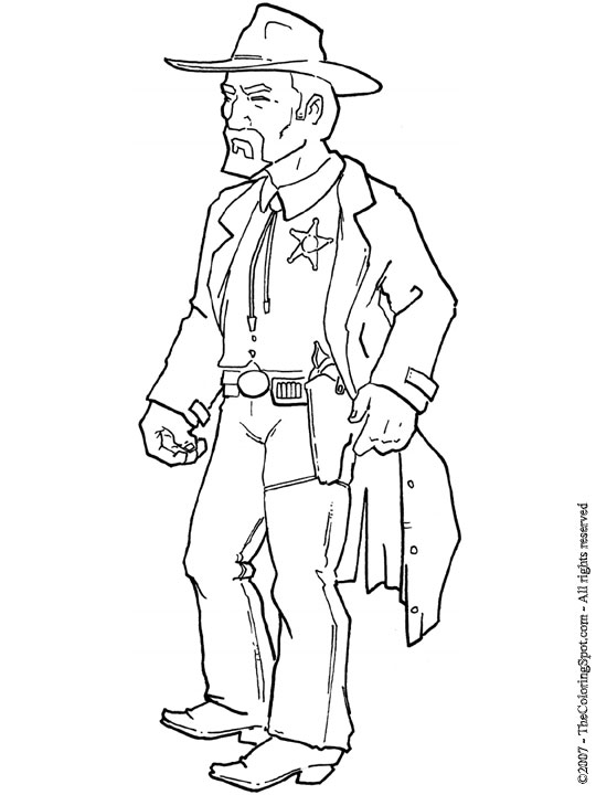 sheriff coloring pages sheriff audio stories for kids free coloring pages sheriff pages coloring