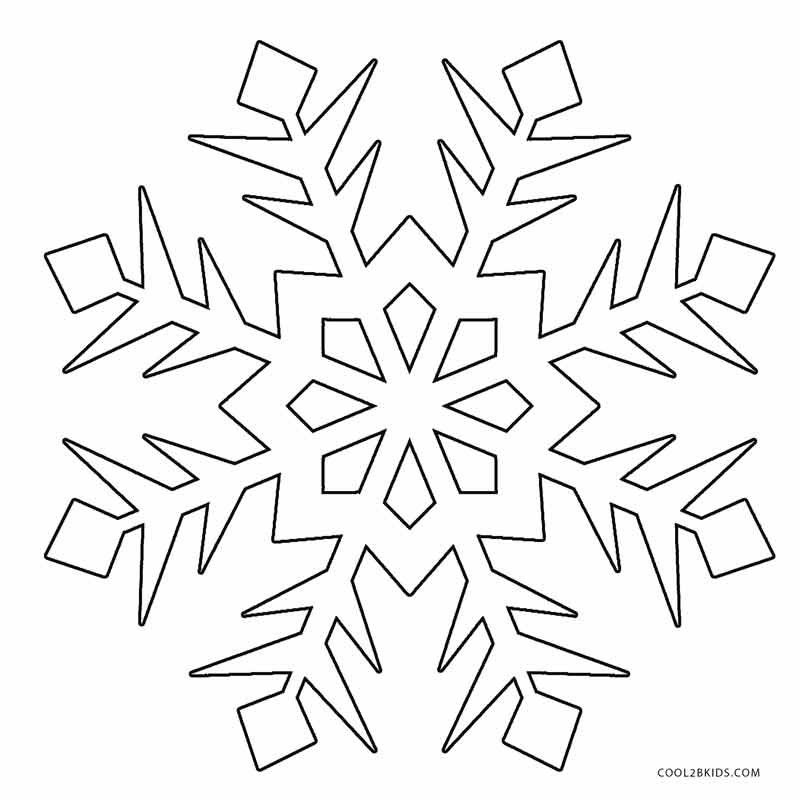 snowflakes coloring page printable snowflake coloring pages for kids cool2bkids coloring snowflakes page