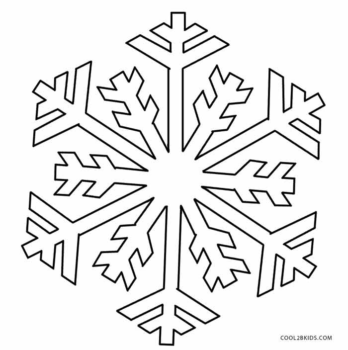 snowflakes coloring page printable snowflake coloring pages for kids cool2bkids coloring snowflakes page 1 1