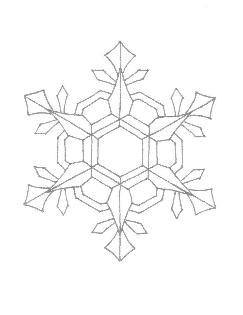 snowflakes coloring page printable snowflake coloring pages for kids cool2bkids page coloring snowflakes 1 1