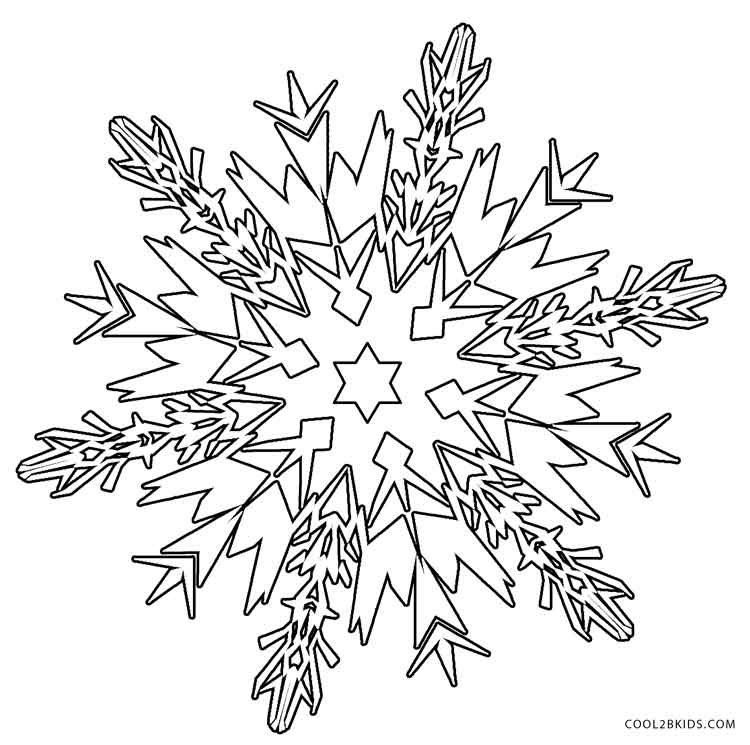 snowflakes coloring page printable snowflake coloring pages for kids cool2bkids page snowflakes coloring 1 1