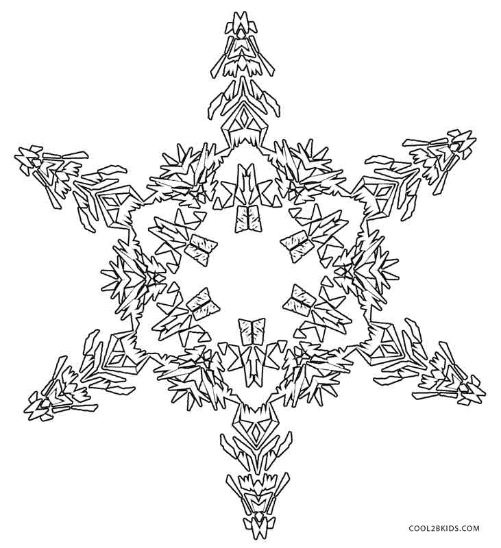 snowflakes coloring page printable snowflake coloring pages for kids cool2bkids page snowflakes coloring 1 2