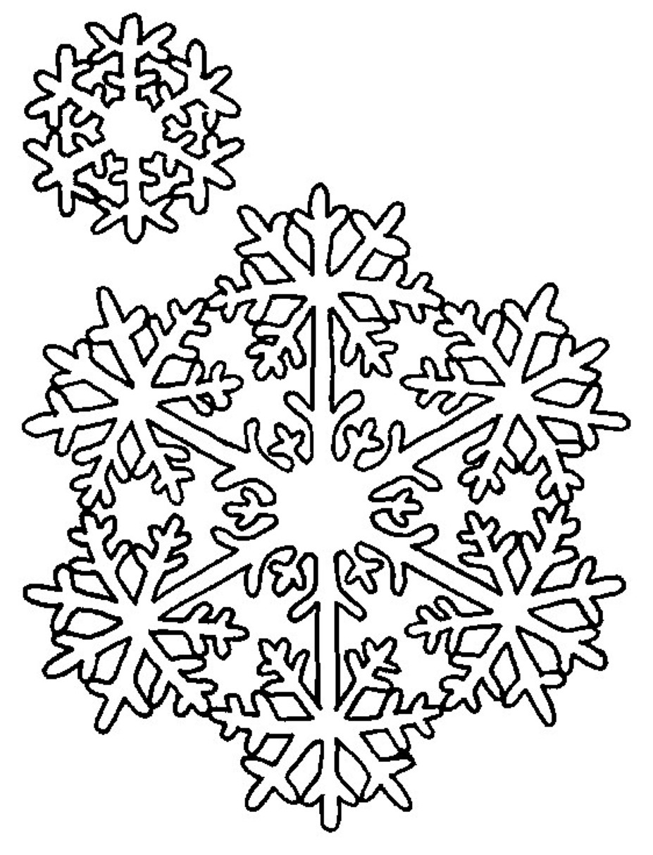 snowflakes coloring page top 25 winter snowflake coloring pages easy free and page coloring snowflakes