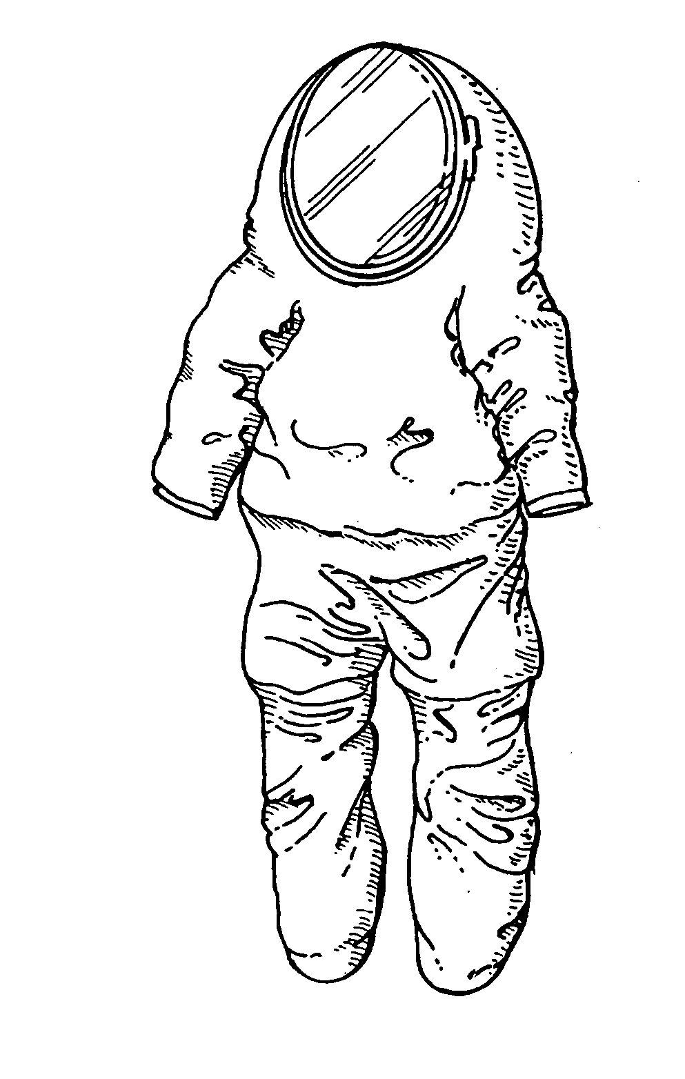 space suit drawing space suit samgarlandillustrations space drawing suit