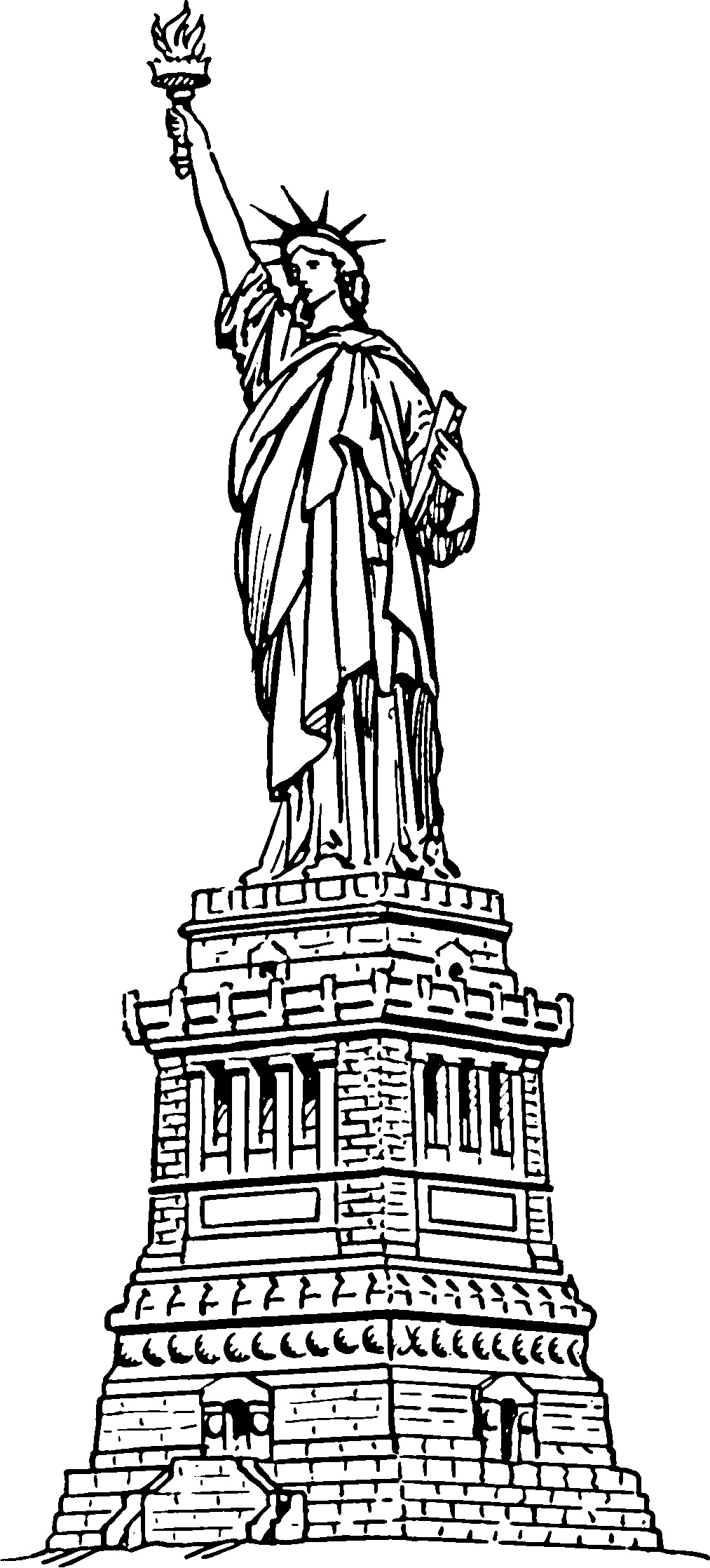 statue of liberty coloring page free printable statue of liberty coloring pages for kids of page statue coloring liberty
