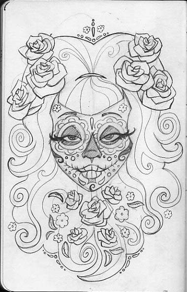 sugar skull coloring pages printable leigh young illustration sugar skulls printable skull coloring pages sugar