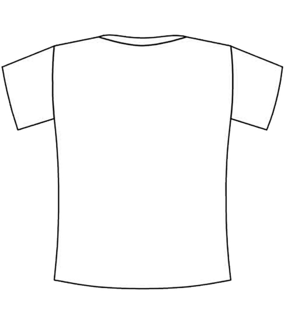 t shirt coloring pages coloring page t shirt img 12295 clipart best t pages shirt coloring