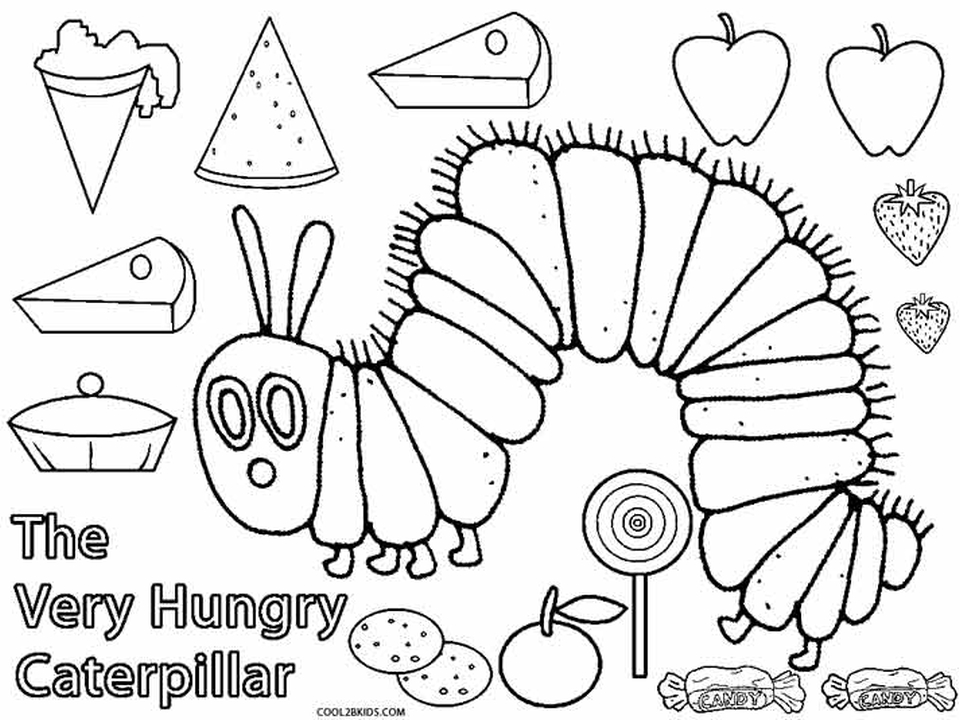 the hungry caterpillar coloring page very hungry caterpillar coloring pages to download and coloring caterpillar hungry the page