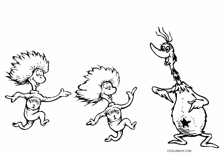 thing 1 and thing 2 coloring pages thing 1 and thing 2 coloring pages dr seuss coloring home thing coloring 2 1 pages thing and