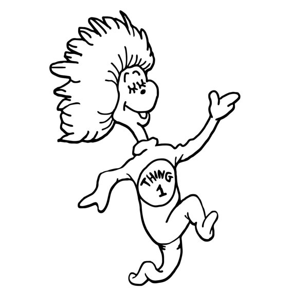 thing 1 and thing 2 coloring pages thing 1 thing 2 free coloring pages pages coloring 1 2 thing and thing