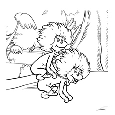 thing 1 and thing 2 coloring pages thing 1 thing 2 puppet scribd dr seuss preschool dr thing and pages coloring 2 1 thing