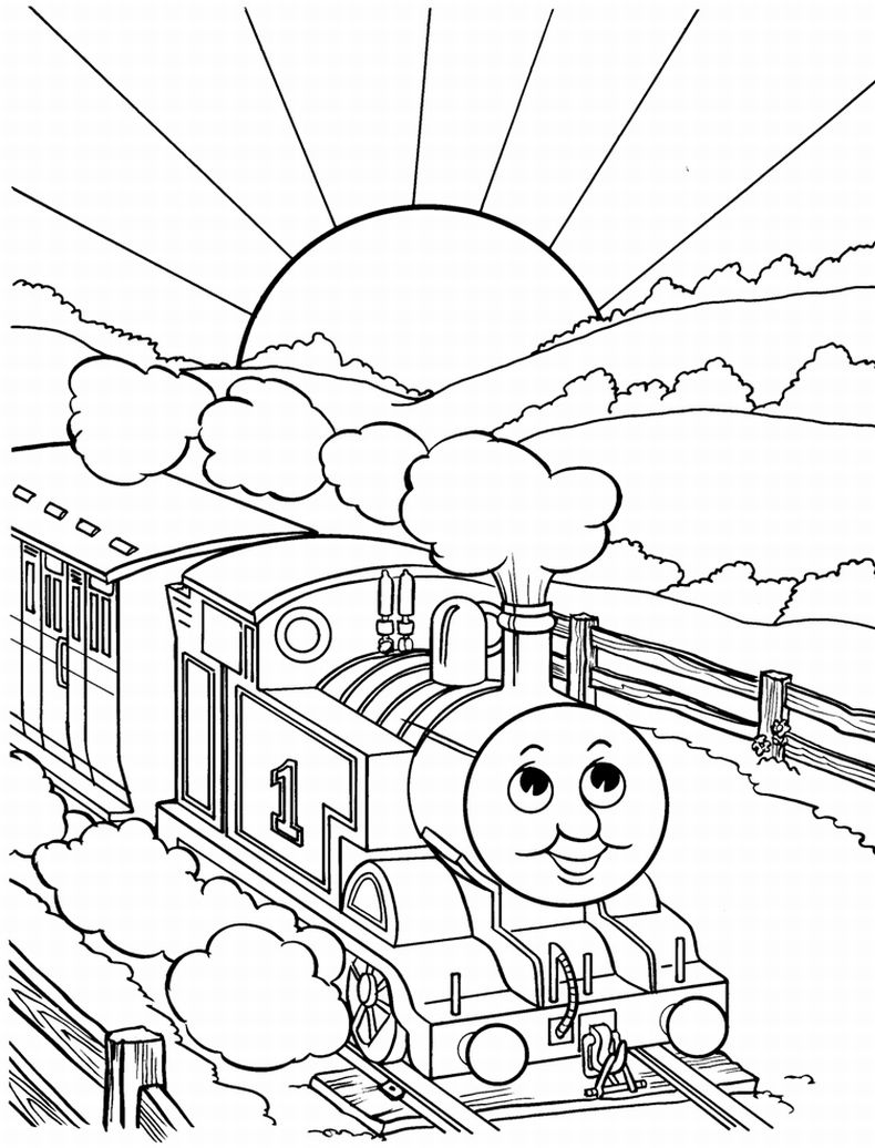 thomas coloring pages thomas the train printable coloring pages at getdrawings thomas pages coloring