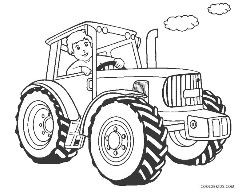tractor pictures to color free printable tractor coloring pages for kids pictures tractor to color