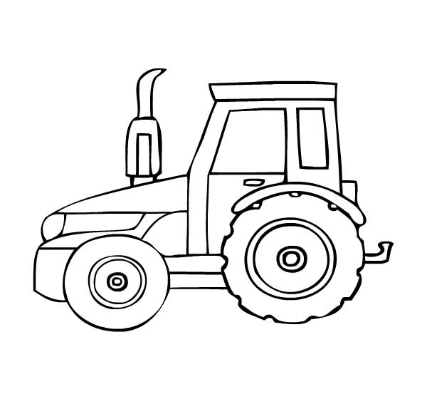 tractor pictures to color free printable tractor coloring pages for kids to pictures tractor color