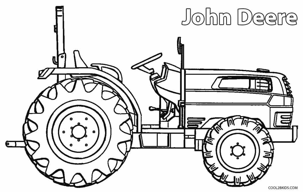 tractor pictures to color printable john deere coloring pages for kids cool2bkids to tractor pictures color