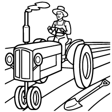 tractor pictures to color rugged tractor coloring pages yescoloring free tractor color to pictures