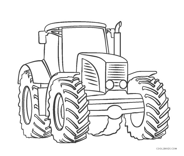 tractor pictures to color tractor coloring pages getcoloringpagescom pictures tractor color to