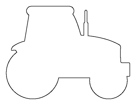 tractor template to print printable tractor template to tractor template print