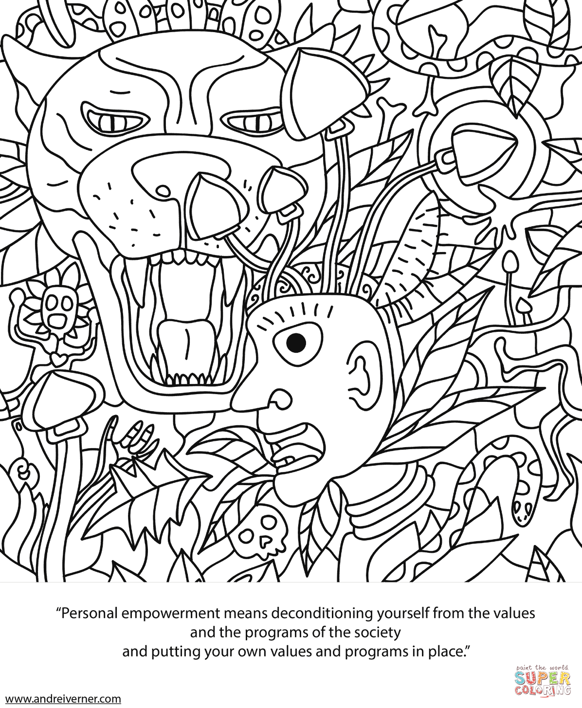 trippy coloring pages psychedelic ornaments coloring page free printable pages coloring trippy