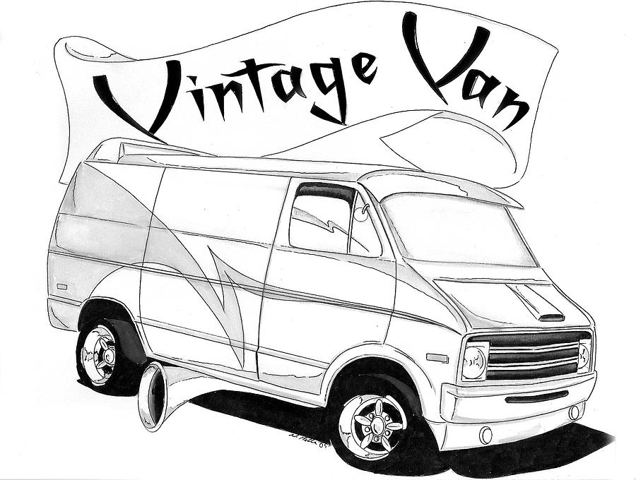 van drawing how to draw a camper van drawing caravan using pen pen van drawing