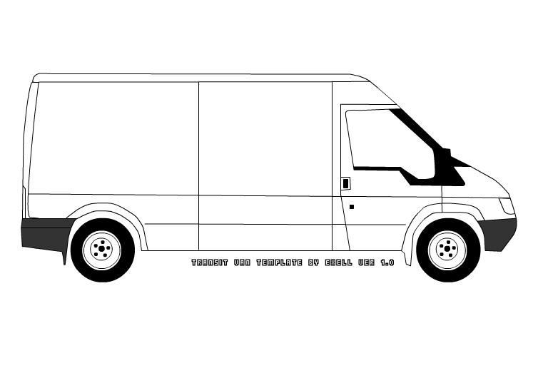 van drawing learn how to draw a camper van other step by step drawing van