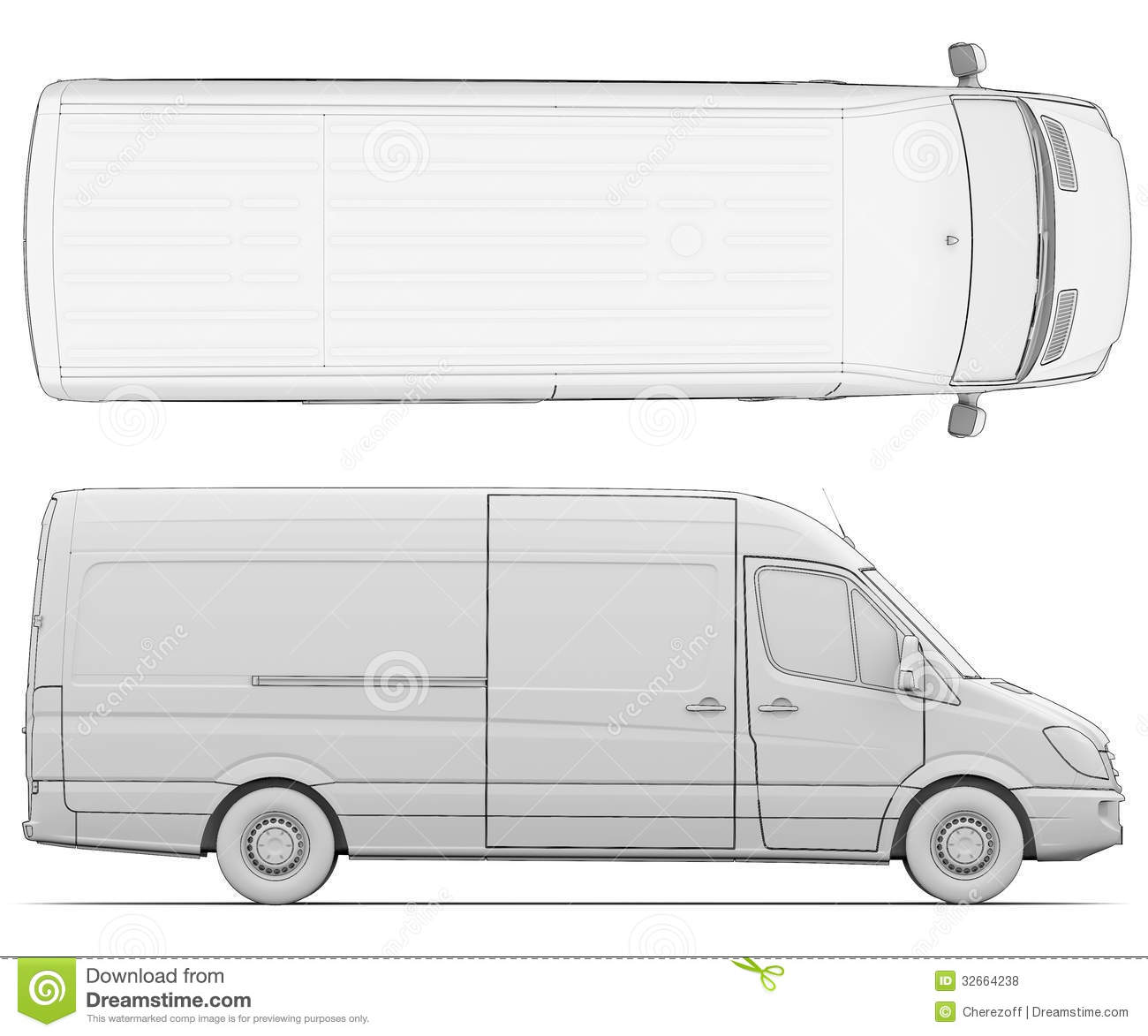 van drawing sketch white van stock illustration illustration of van drawing