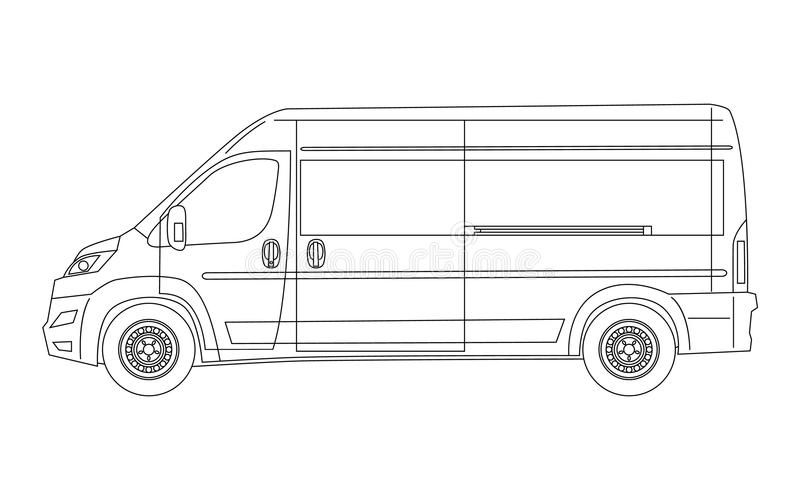 van drawing vans drawing at getdrawings free download van drawing