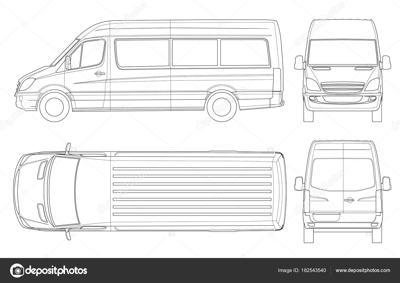 van drawing volkswagen van drawing at getdrawings free download drawing van