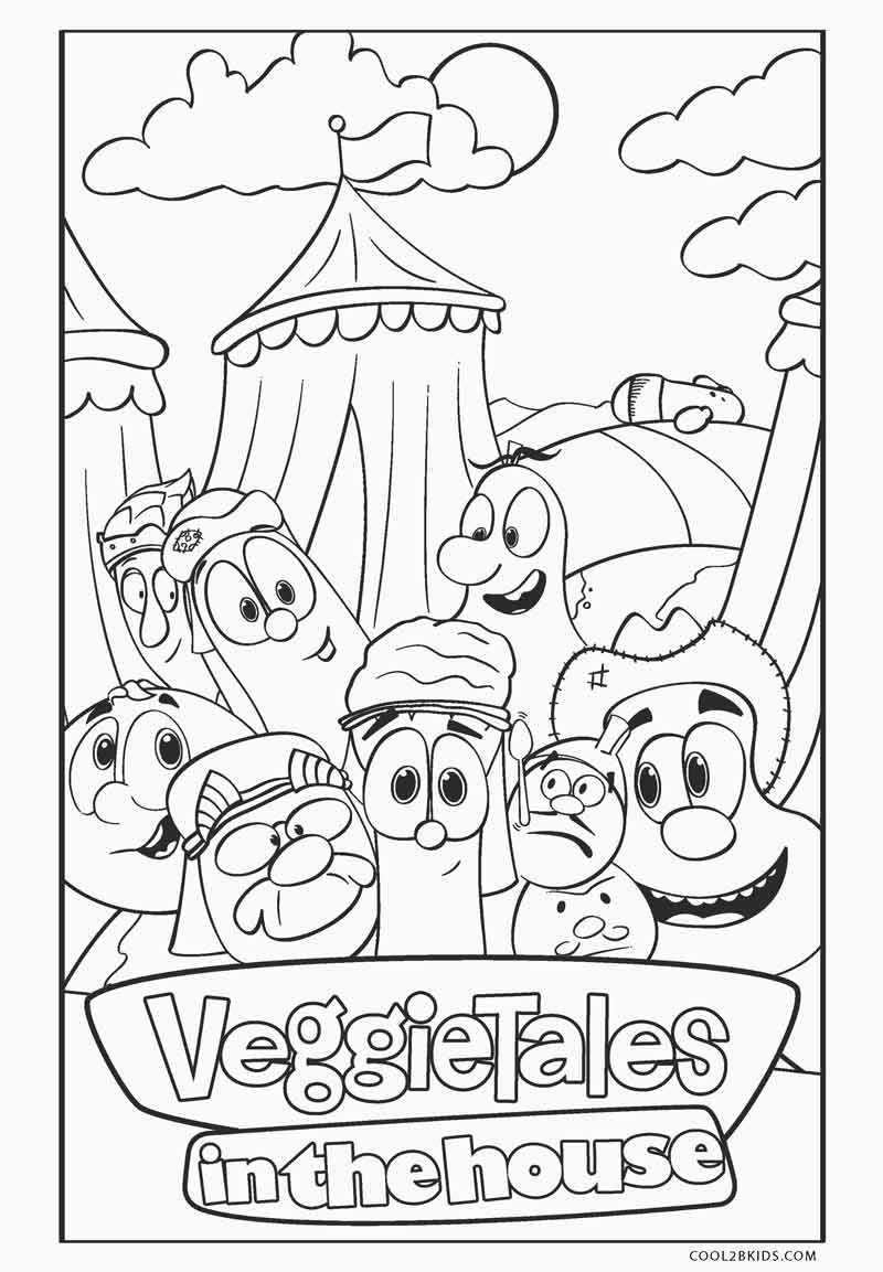 veggietales coloring pages free printable veggie tales coloring pages for kids pages veggietales coloring 1 1