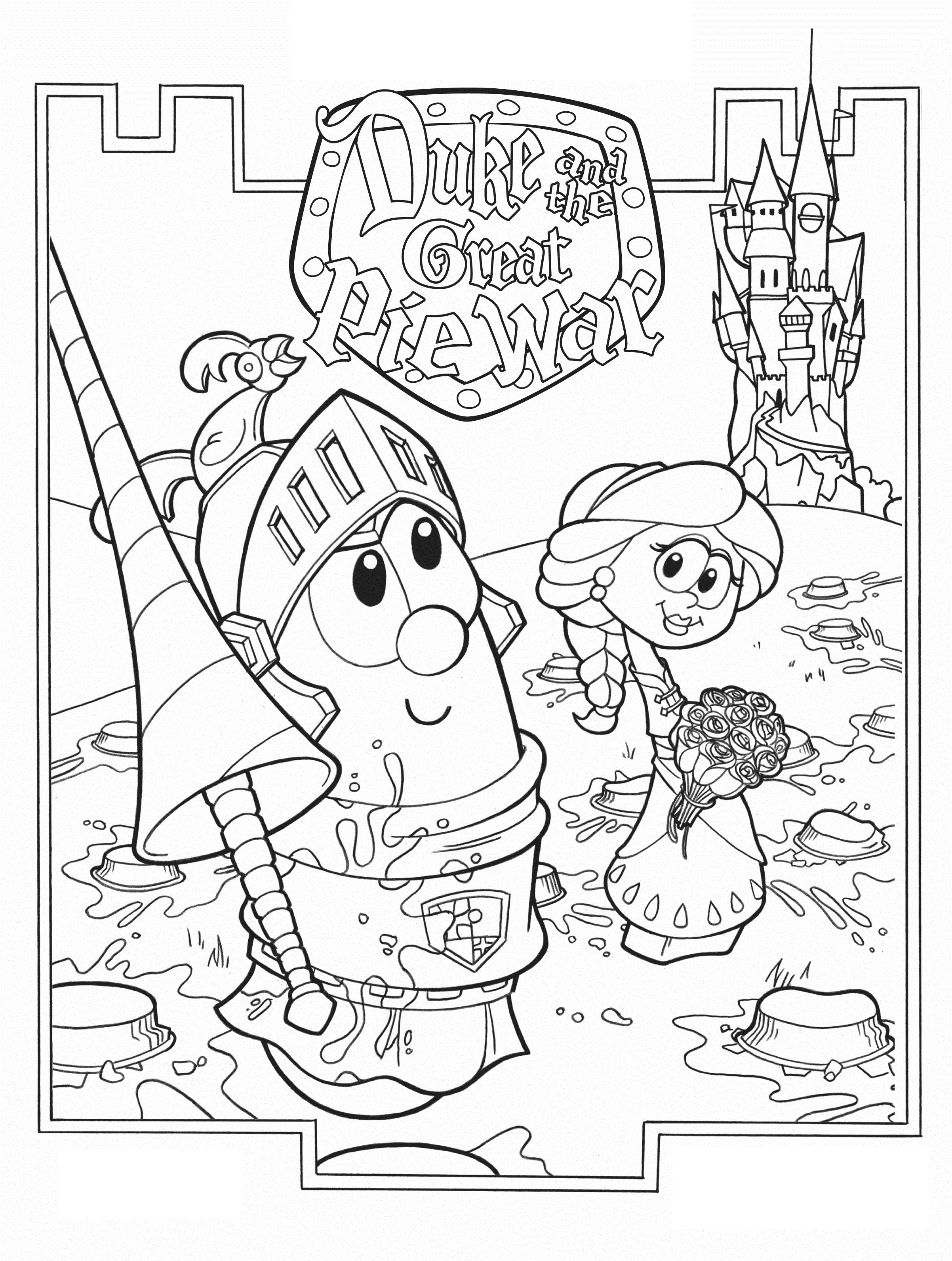 veggietales coloring pages the ultimate veggietales web site coloring coloring veggietales pages