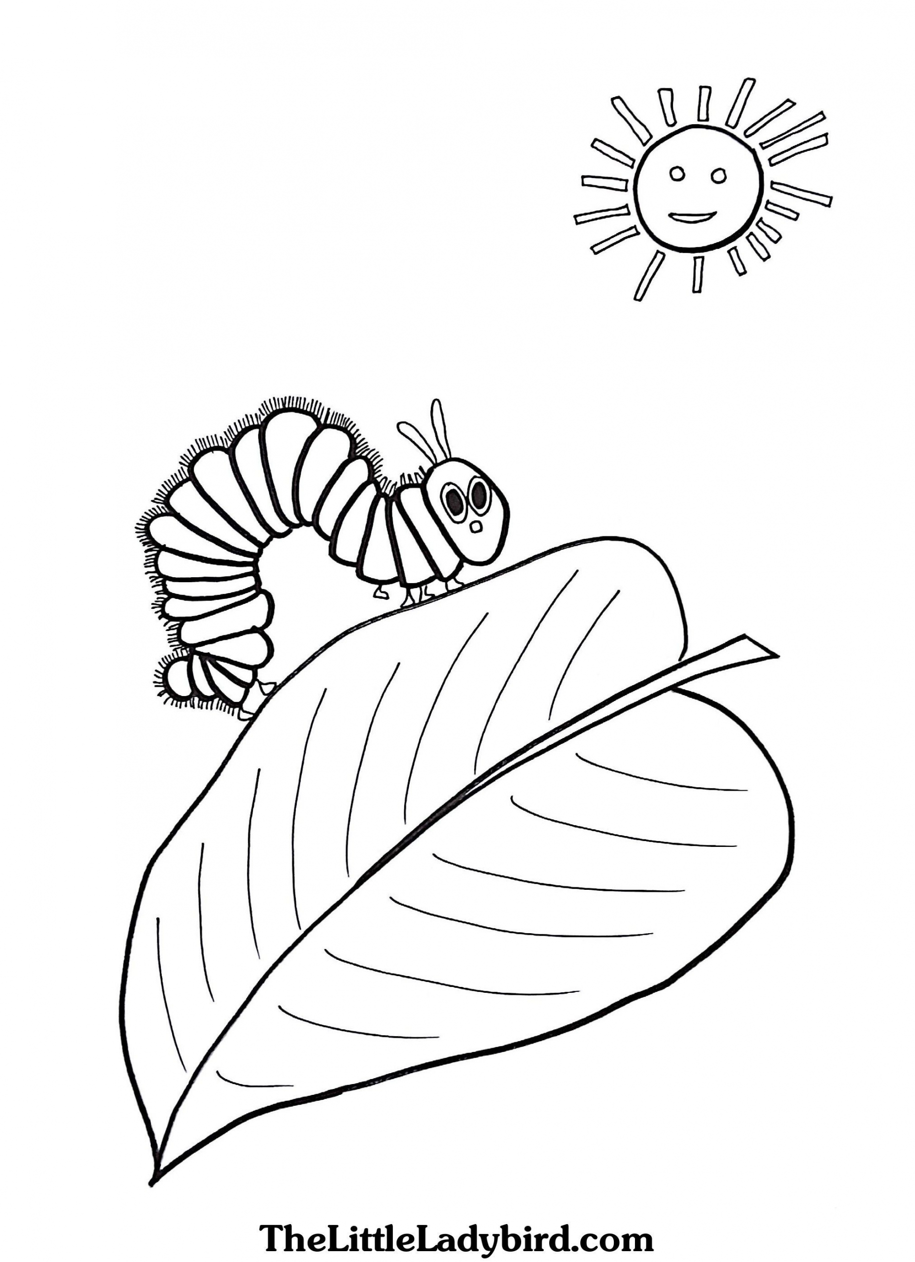 very hungry caterpillar coloring the very hungry caterpillar butterfly coloring page coloring very caterpillar hungry